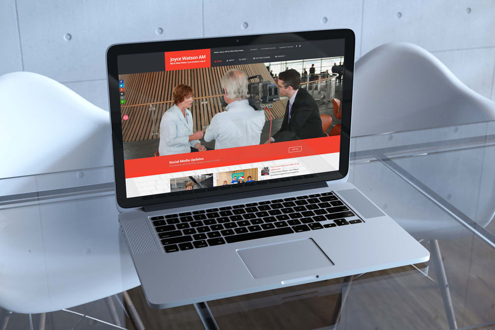 Labour Party Website for Joyce Watson AM by ePolitixDesign