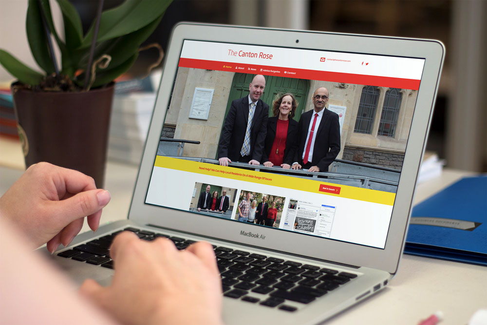 Canton Labour - Welsh Labour Website Design by ePolitixDesign